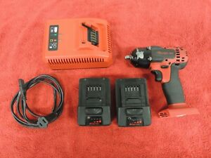 Snap On Ct8810a 3 8 Drive 18v Cordless Impact 2 Batteries Charger