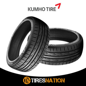 2 New Kumho Ecsta Pa51 225 45r17xl 94w Tires