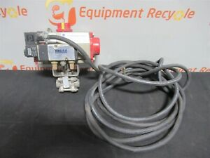 Triac 2r40sr Spring Return Pneumatic Rotary Actuator Ball Valve