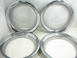 15 Gm Rally Wheel Trim Rings Hubcaps Beauty Ring Chevrolet Truck Gmc Impala
