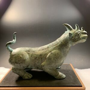 Chinese Antique Bronze Water Buffalo