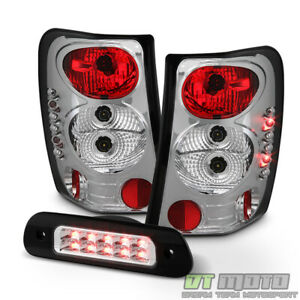 1999 2004 Jeep Grand Cherokee Tail Lights Lamps Led 3rd Brake Stop Light 99 04