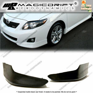 For 11 13 Toyota Corolla Oe S Style Sports Front Bumper Body Lip Kit Urethane
