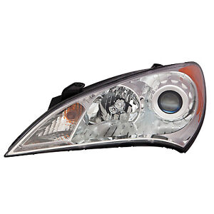 Cpp Replacement Headlight Hy2502154 For 2010 2012 Hyundai Genesis Coupe