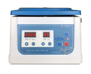 New Velab Pro 4000 Digital Low Speed Clinical Tabletop Centrifuge