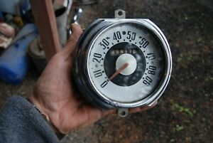 1948 49 50 51 52 Ford F1 Pick Up Truck Speedometer Assembly Nice Original