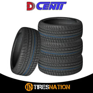 4 New Dcenti D6000 205 40r17 82w High Performance Tires