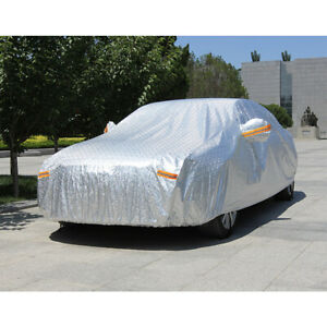 Large Car Cover Genuine Waterproof All Weather Protection Breathable Suv Van Us