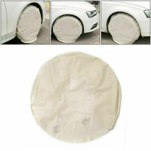 4pcs 28 Inch Wheel Tire Covers For Rv Truck Car Auto Waterproof Camper Trailer