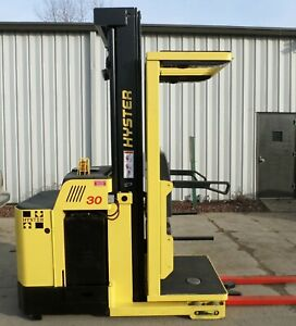 Hyster R30xm3 2013 3000 Lbs Capacity Great Electric Order Picker Forklift