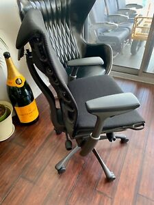 Herman Miller Embody Chair Graphite Frame Balance Fabric 1 595 Msrp W tags