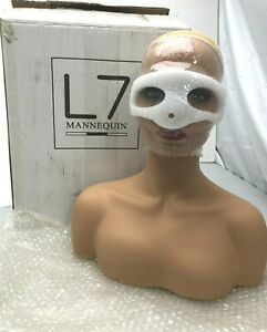 l7 Pvc Mannequin Womens Head Bust Stand For Displaying Wigs sunglasses jewelry
