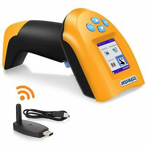 433mhz Wireless Barcode Scanner 1d Usb Handheld Bar Code Reader Laser Cordless