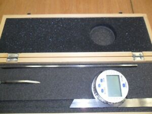 Fowler 30 Sec Resolution Digital Combination Protractor And Inclinometer Mult