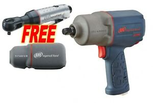 Ingersoll Rand 2235timax 1 2 Impact Wrench W Free 1 4 Ratchet