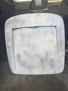 Alfa Romeo Giulia Spider 101 1600 Cc Front Hood With New Chrome Molding