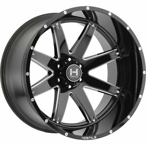 20x9 Black Milled Alpha H109 5x150 0 Rims Open Country A T Ii P275 60r20 Tires