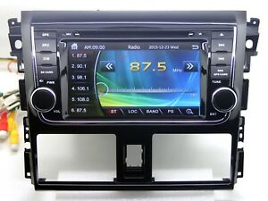 In Dash Car Stereo Radio Dvd Player Gps Navigation For Toyota Vios Belta Yaris