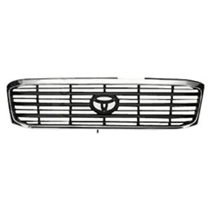 Front Grille Fits 1998 2002 Toyota Land Cruiser 104 58646