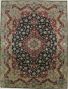 Handmade Vintage Large Traditional 10x13 Persian Rug Oriental Home D Cor Carpet