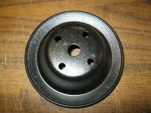 Mopar Plymouth Dodge Water Pump Pulley Oem Clean Painted 6 X 2 1 8 Charger E