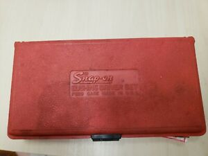 Snap On Bushing Driver Set A157b In Pb20 Case 23 Pieces