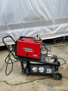 Lincoln Electic Mig Wire Welder Feeder Weld Pak 180hd K2515 1 Only Used Once