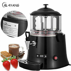 Commercial 400w Hot Chocolate Machine Beverage Dispenser Cocoa Maker Milkfrother