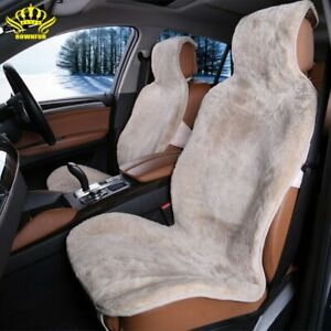 Car Seat Natural Fur Covers Universal Size 1 Pc