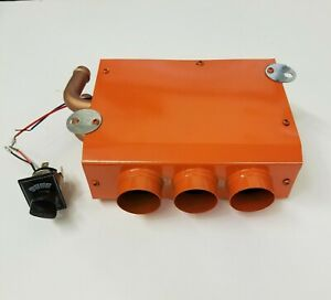 Universal Underdash Heater W 3 Speed Switch 12v Under Dash Heat 1 7 16 12 Volt