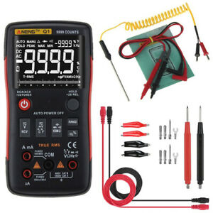 Digital Multimeter Dc ac Voltage Ammeter Frequency Current Ohm Tester Red Hot M
