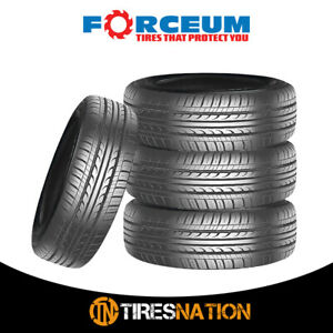 4 New Forceum D650 185 70r14 88h All Season Performance Tires