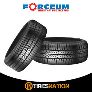 2 New Forceum D700 185 55r15 86v Ultra High Performance Tires