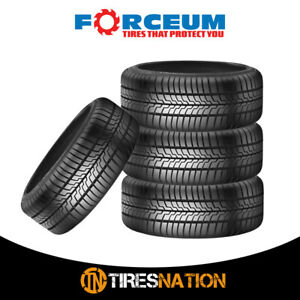 4 New Forceum D700 185 55r15 86v Ultra High Performance Tires