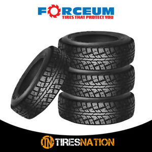 4 New Forceum Atz 235 75r15 105s All Terrain Off Road Tires