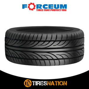 1 New Forceum Hena 205 50r15 89w All Season Performance Tires