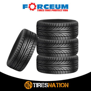4 New Forceum Hena 205 55r15 88v All Season Performance Tires