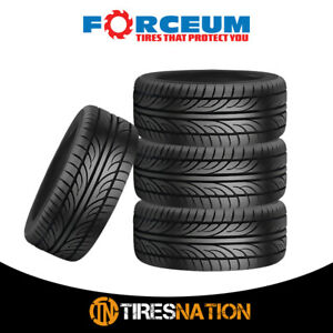 4 New Forceum Hena 215 40zr17 87w All Season Performance Tires