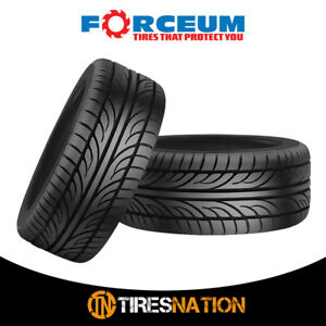 2 New Forceum Hena 205 40zr17 84w All Season Performance Tires