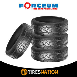 4 New Forceum Hexa 215 40zr18 89y Ultra High Performance Tires