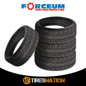 4 New Forceum Hexa r 205 45zr16 87w Ultra High Performance Tires