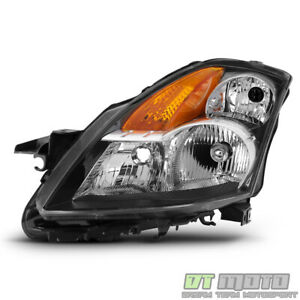 For 2007 2009 Nissan Altima Sedan Headlight Headlamp Replacement Lh Driver Side