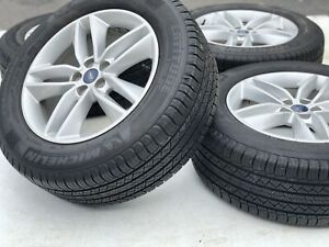 Factory Oem Ford Edge 18 Wheels Rims Michelin Tire Set 10043 Package Deal
