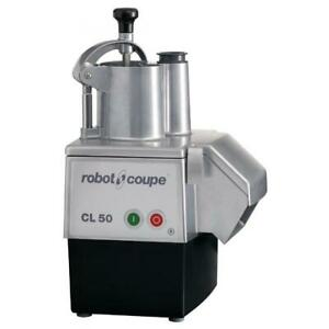 Robot Coupe cl50 Continuous Feed Food Processor 1 1 2 hp 120v 60 1 ph