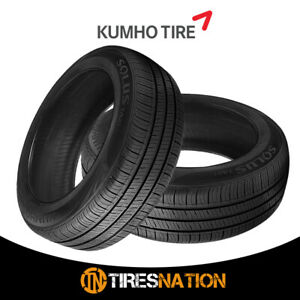 2 New Kumho Solus Ta31 215 55r17 94v All Season Performance Tires