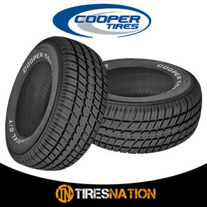 2 New Cooper Radial G T P235 60r15 98t Tires