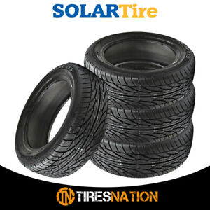4 New Solar 4xs 205 50 16 87h Blk Sl All Season Performance Tires By Sumitomo