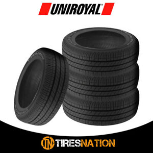 4 New Uniroyal Tiger Paw Touring 205 50r16 87h Tires