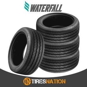 4 New Waterfall Eco Dynamic 195 50r15 82v Tires