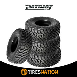 4 New Patriot Mt 33x12 50r18lt 10p 118q All Terrain Mud Tires 305 60 18